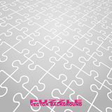 Vector puzzle backgrounds Royalty Free Stock Images