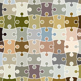Vector puzzle pattern background Stock Images