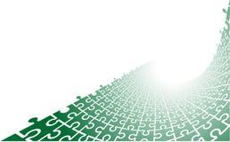 Vector Puzzlespiel-Hintergrund Stockbild