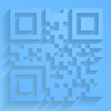 Vector qr code Royalty Free Stock Photography