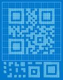 Vector QR-code Royalty Free Stock Image