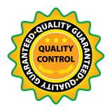 Vector quality label Royalty Free Stock Image