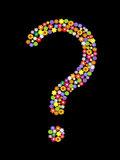 Vector question mark Royalty Free Stock Images