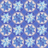 Vector Quilt Abstract Seamless Pattern Royalty Free Stock Photography