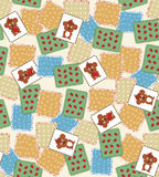 vector quilt background Stock Photography