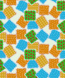 Vector Quilt background Stock Images