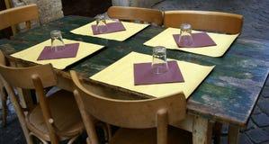Vector rústico del restaurante Fotografía de archivo