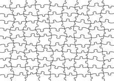Vector raadsel stock illustratie