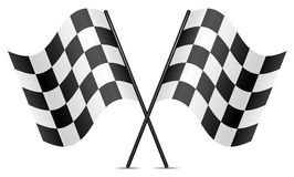 vector racing flags Royalty Free Stock Images