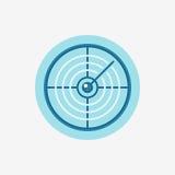 Vector radar icon Stock Photos