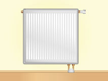 Vector Radiator Royalty Free Stock Photos