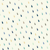 Vector rain drops background Stock Images
