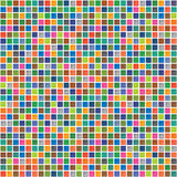 Vector rainbow abstract seamless pattern Royalty Free Stock Photos