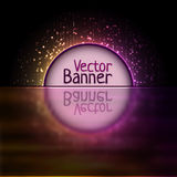 Vector rainbow abtract element Royalty Free Stock Photos