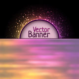 Vector rainbow abtract element Royalty Free Stock Photography