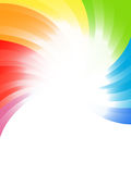 Vector rainbow background Royalty Free Stock Photos