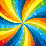 Vector. Rainbow background. Vector festive background. Rainbow pattern Stock Photos