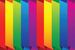 Vector rainbow background Stock Photo