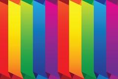 Vector rainbow background Stock Photo