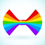 Vector rainbow colors bow Stock Photo