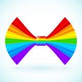 Vector rainbow colors bow Stock Photo