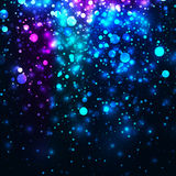 Vector rainbow glowing light glitter background Royalty Free Stock Photography