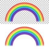 Vector Rainbow Stock Photo