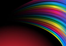 Vector rainbow wallpaper Stock Images