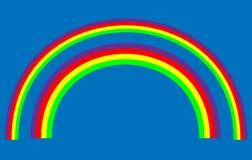 Vector Rainbows Stock Photography