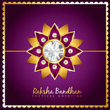 Vector rakhi background Stock Images