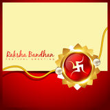 Vector rakhi background Royalty Free Stock Image