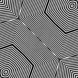 Vector rayado blanco y negro del ejemplo del fondo Imágenes de archivo libres de regalías