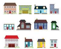 Vector real estate icons Stock Image