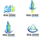Vector real estate Royalty Free Stock Photography