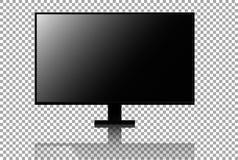 Vector realista de 4k TV Stock de ilustración