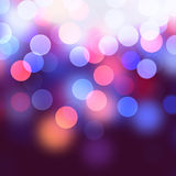 Vector realistic abstract background with blurred defocused boke. H lights vector illustration