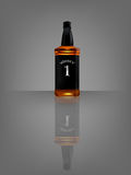 Vector of realistic beautiful whisky bottle with reflect shadow Stock Photos