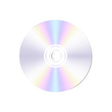 Vector realistic  blank compact disc CD or DVD Royalty Free Stock Photo