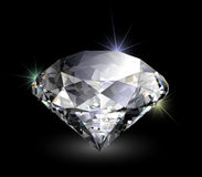 Vector realistic diamond Royalty Free Stock Photos