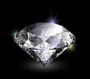 Vector realistic diamond Royalty Free Stock Photos