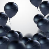 Vector realistic glossy balloons Stock Photography