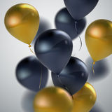 Vector realistic glossy balloons Stock Photo