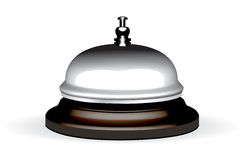 Vector realistic hotel bell Royalty Free Stock Images