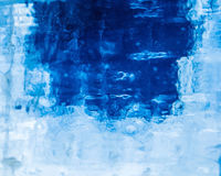 Vector realistic ice texture royalty free illustration