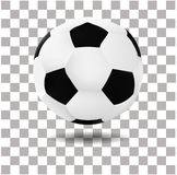 Vector realistic Illustration Of Football Soccer ball  Stock Images