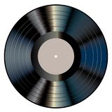 Black gray LP Stock Images