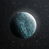 Vector realistic moon. Stock Images