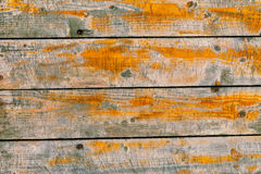 Vector realistic old wooden background Stock Photos