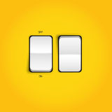 Vector Realistic Switch Set Royalty Free Stock Photo