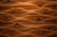 Vector realistic wooden timber background texture. Wooden texture background. Realistic vector timber wood floor surface. Brown detailed hardwood planks Royalty Free Stock Photos